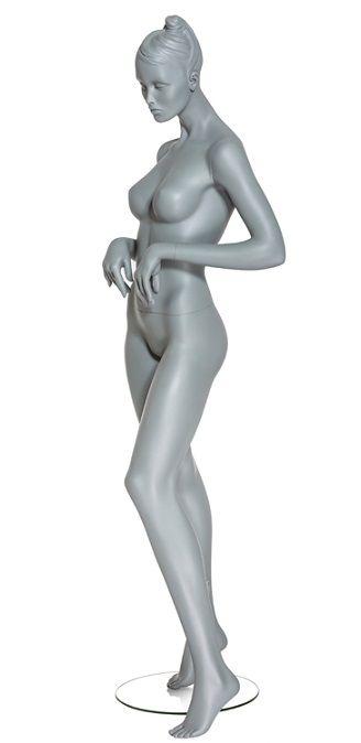 Dámská figurína Diva, pozice D1402S, barva RAL 7006, výška 190 cm
