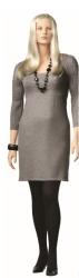 Dámská figurína XXL, tělová s make-up, hlava na paruku