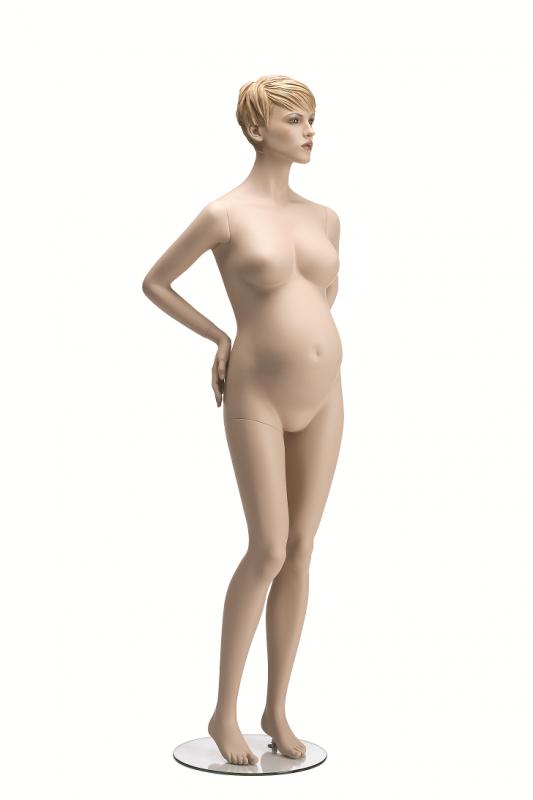 Maternity, posice 1K, hlava Jade, tělová, prolisované vlasy