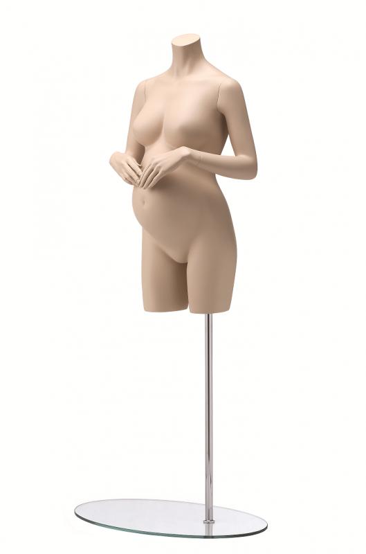 Maternity - torso bez hlavy, posice 1G, tělové