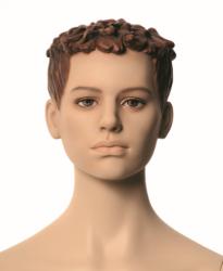 Q-Kids dětská figurína Gilbert 12 roků, postoj 2, prolisované vlasy, tělová