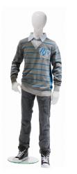 Ringo dětská figurína, 12 let, postoj 2, lesklá bílá