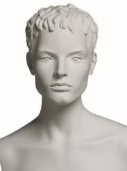 Vanessa Fitness A sportovní figurína, prolisované vlasy, bílá