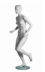 Vanessa Runner sportovní figurína, prolisované vlasy, bílá