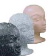 Hlava dámská Mona, mramor