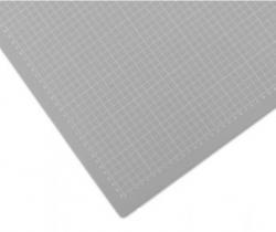 Řezací podložka 120x90 cm, šedo/šedá, jednostranná, tloušťka 3 mm